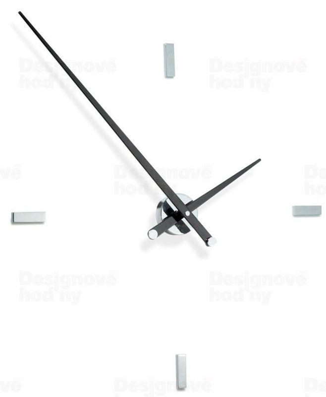 Designové nástěnné hodiny Nomon Tacon 4L black 100cm 161611