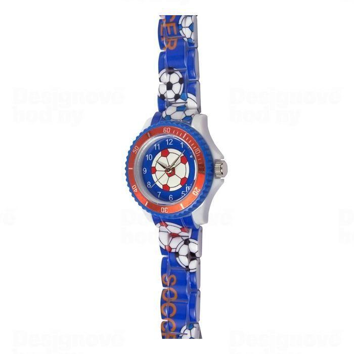Lowell Italy Dětské hodinky Lowell Splash JP016 fotbal 161540