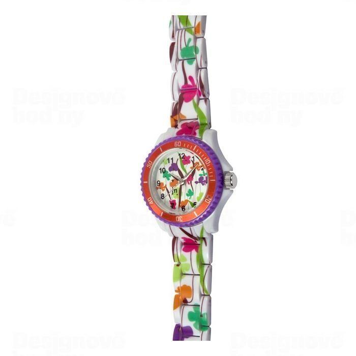Lowell Italy Dětské hodinky Lowell Splash JP016 květiny 161539