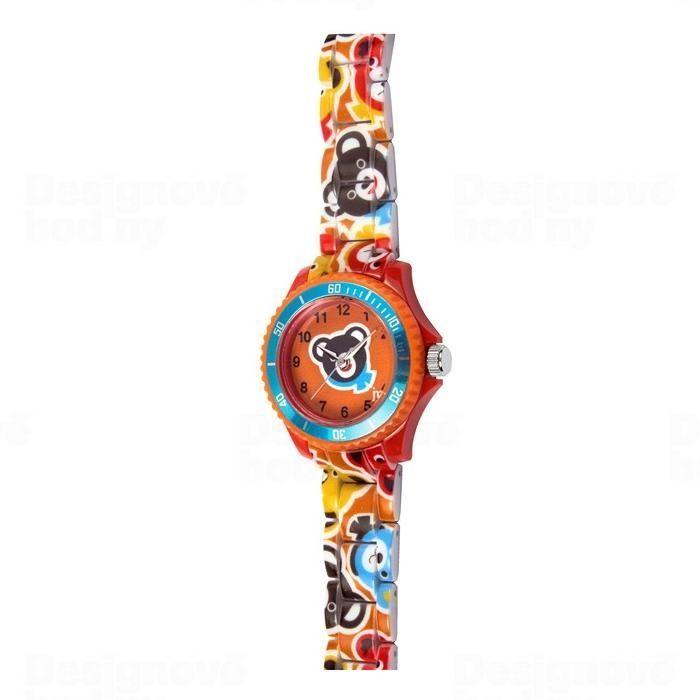 Lowell Italy Dětské hodinky Lowell Splash JP016 medvěd 161536