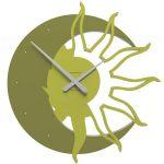 Designové hodiny 10-209 CalleaDesign 60cm (více barev) Barva zelená oliva - 54 161780