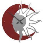 Designové hodiny 10-209 CalleaDesign 60cm (více barev) Barva rubínová tmavě červená - 65 161782