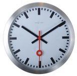 Designové nástěnné hodiny 3998st Nextime Station Stripe 19cm 161831