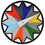 Designové nástěnné hodiny 8163 Nextime Circus 43cm 161840