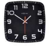 Designové nástěnné hodiny 8816zw Nextime Classy square 30cm 161846