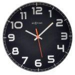 Designové nástěnné hodiny 8817zw Nextime Classy round 30cm 161849