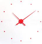 Designové nástěnné hodiny NOMON OJ červené 80cm 161795