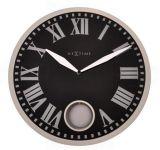 Designové nástěnné kyvadlové hodiny 8161 Nextime Romana 43cm 161838