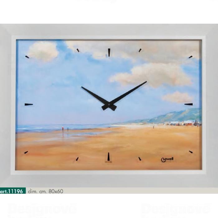 Lowell Italy Originální nástěnné hodiny 11196 Lowell Prestige 80cm 161697