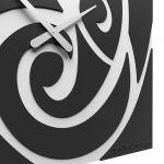 Hodiny na zeď Designové hodiny 10-206 CalleaDesign 60cm (více barev) Barva černá klasik - 5 161888 Designové hodiny