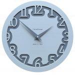 Designové hodiny 10-002 CalleaDesign Labirinto 30cm (více barevných verzí) Barva růžová lastura (nejsvětlejší) - 31 161944