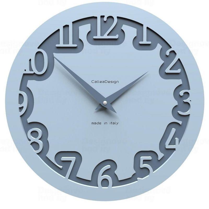 Designové hodiny 10-002 CalleaDesign Labirinto 30cm (více barevných verzí) Barva černá klasik - 5 161933