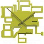 Designové hodiny 10-003 CalleaDesign Kron 32cm (více barevných verzí) Barva žlutý meloun - 62 161976