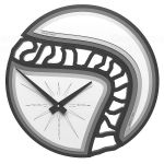 Designové hodiny 10-102 CalleaDesign 45cm (více barev) Barva bílá - 1 161988