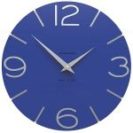 Hodiny na zeď Designové hodiny 10-005 CalleaDesign 30cm (více barev) Barva terracotta - 24 162008 Designové hodiny