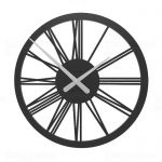Designové hodiny 10-114 CalleaDesign 45cm (více barev) Barva antracitová černá - 4 162088