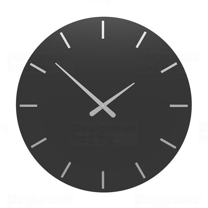 Designové hodiny 10-203 CalleaDesign 60cm (více barev) Barva grafitová (tmavě šedá) - 3 162183