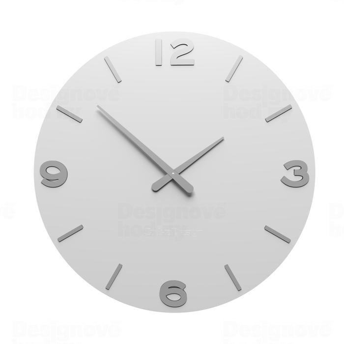 Designové hodiny 10-204 CalleaDesign 60cm (více barev) Barva švestkově šedá - 34 162239 Hodiny