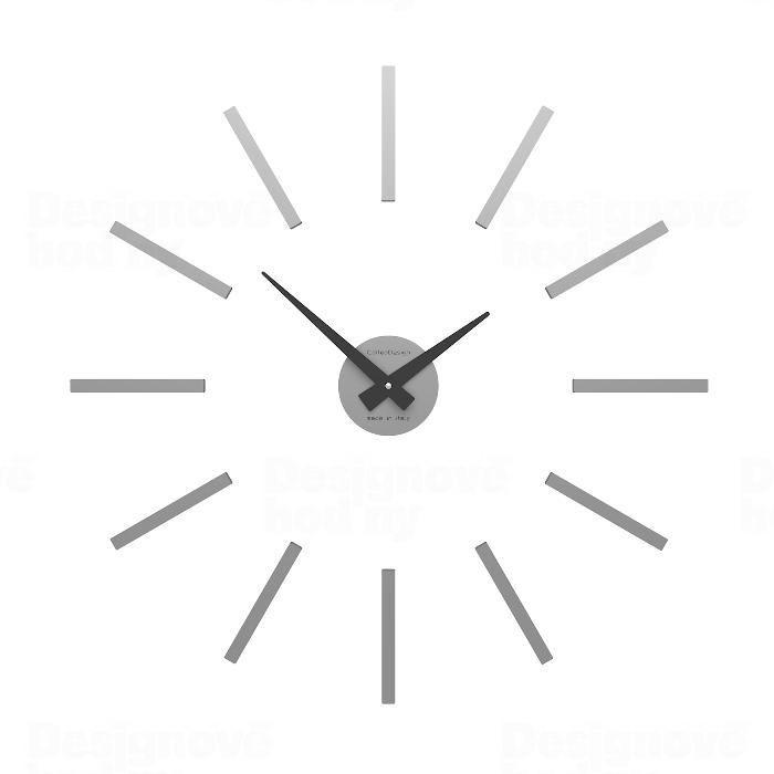 Designové hodiny 10-301 CalleaDesign (více barev) Barva antracitová černá - 4 162286