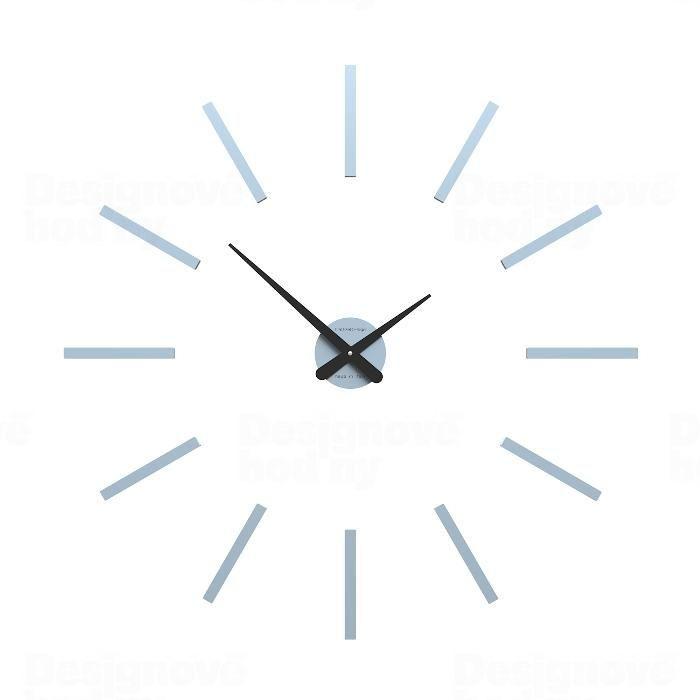 Hodiny na zeď Designové hodiny 10-302 CalleaDesign (více barev) Barva fialová klasik - 73 162344 Designové hodiny