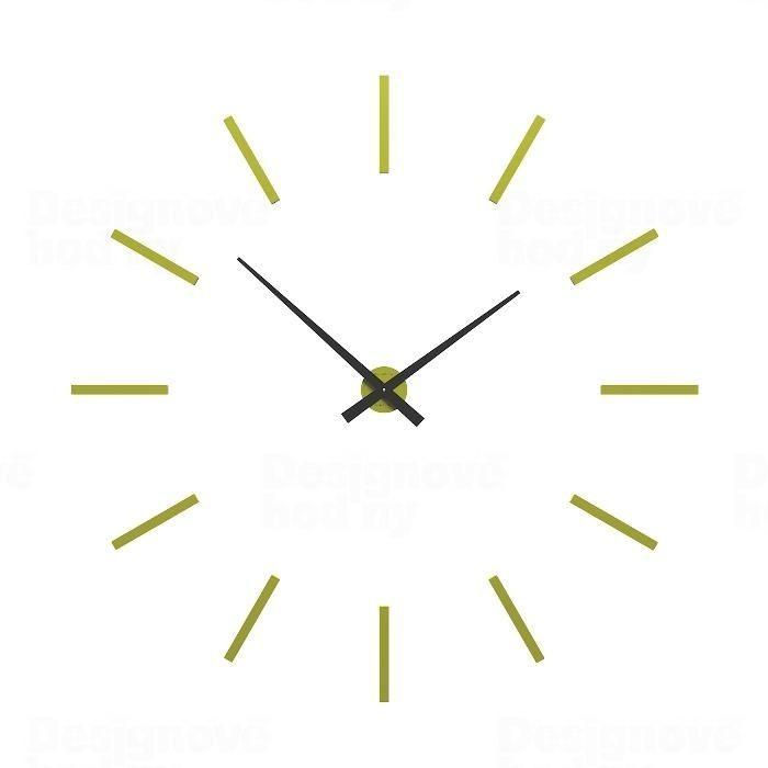 Designové hodiny 10-303 CalleaDesign (více barev) Barva antracitová černá - 4 162354 Hodinářství