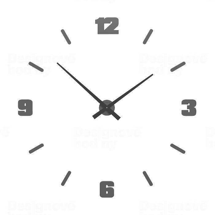 Hodiny na zeď Designové hodiny 10-306 CalleaDesign (více barev) Barva světle červená - 64 162484 Designové hodiny