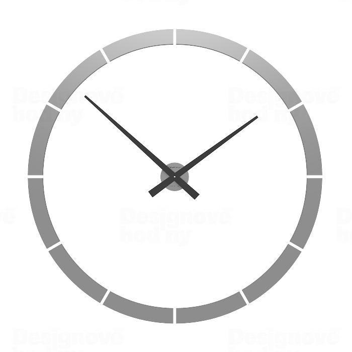 Designové hodiny 10-316 CalleaDesign 100cm (více barev) Barva grafitová (tmavě šedá) - 3 162795