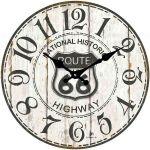 Designové nástěnné hodiny 14848 Lowell 34cm 163692