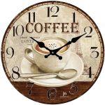 Designové nástěnné hodiny 14858 Lowell 34cm 163700