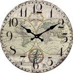 Designové nástěnné hodiny 14863 Lowell 34cm 163704