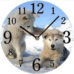 Designové nástěnné hodiny 14866 Lowell 34cm 163691