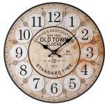 Designové nástěnné hodiny 21439 Lowell  34cm 163458