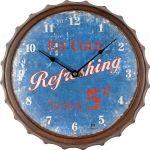 Designové nástěnné hodiny 21448 Lowell 33cm 163711
