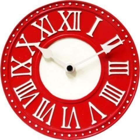 NeXtime Designové nástěnné hodiny 5187ro Nextime v aglickém retro stylu 17cm 163561