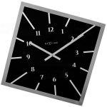 Designové nástěnné hodiny 8176zw Nextime Off Balance 56cm 163681