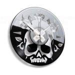 Designové nástěnné hodiny Discoclock 059 Lebka 30cm 163478