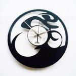 Designové nástěnné hodiny Discoclock 062 Cyklista 30cm 163481