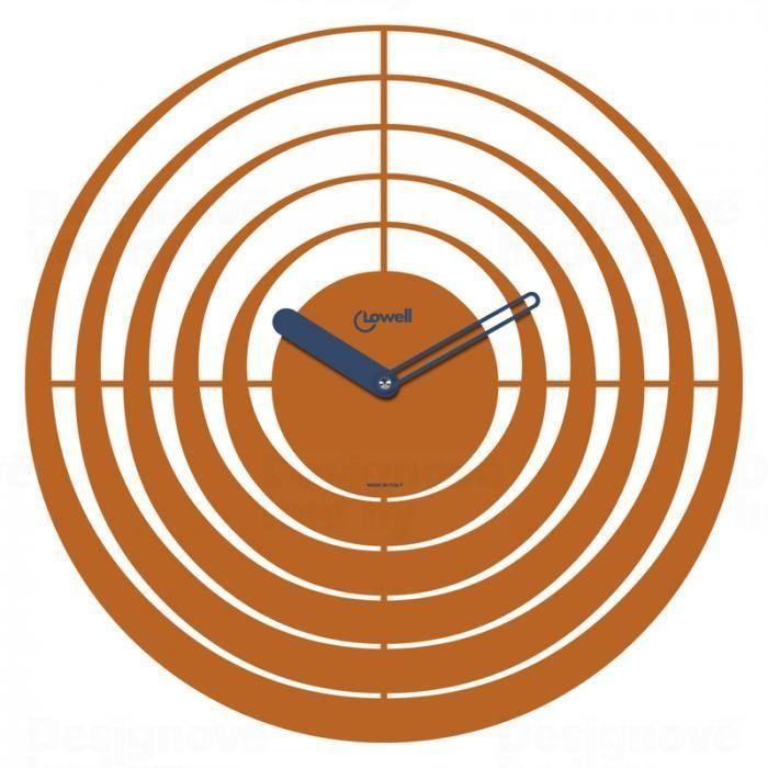 Hodiny na zeď Designové nástěnné hodiny Lowell 05841O Design 40cm 163464 Lowell Italy Designové hodiny