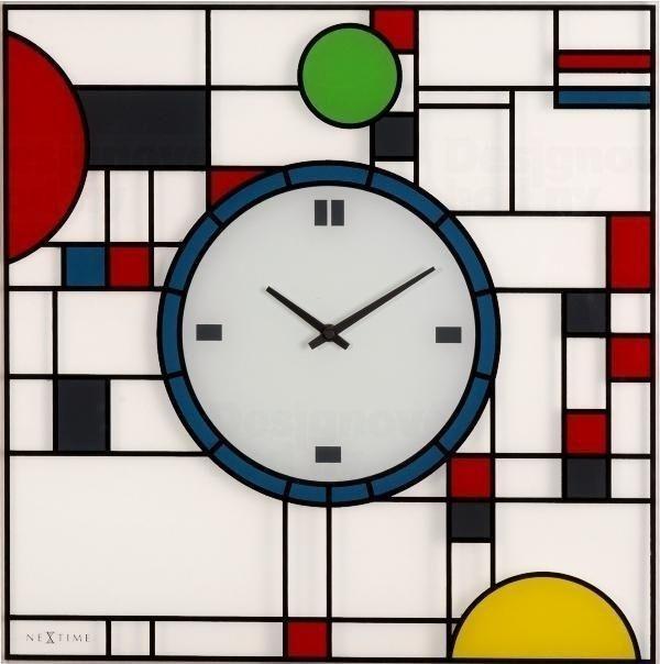 NeXtime Designové nástěnné hodiny Nextime Frank 3100 163660