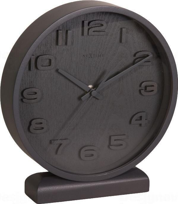 NeXtime Designové stolní hodiny 5192gs Nextime Wood Wood Small 22cm 163672