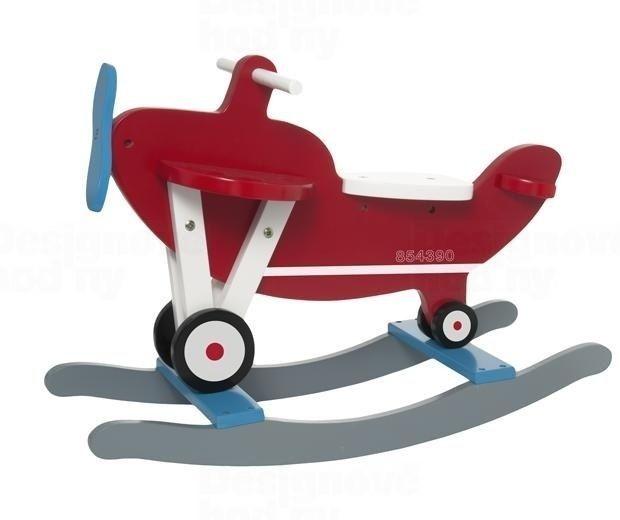 Present Time Dětské dřevěné houpací letadlo JIP0828 163553