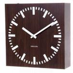 Oboustranné nástěnné hodiny 5529 wenge 30cm 163509