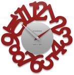 Designové hodiny 10-009 CalleaDesign Mat 33cm (více barevných verzí) Barva černá klasik - 5 163857
