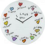Designové nástěnné hodiny 14871 Lowell 38cm 163837