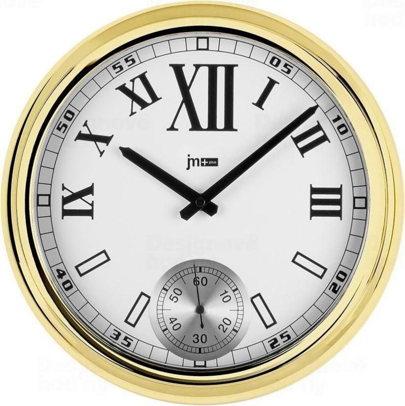 Designové nástěnné hodiny 14948G Lowell 31cm 163842 Lowell Italy Hodiny