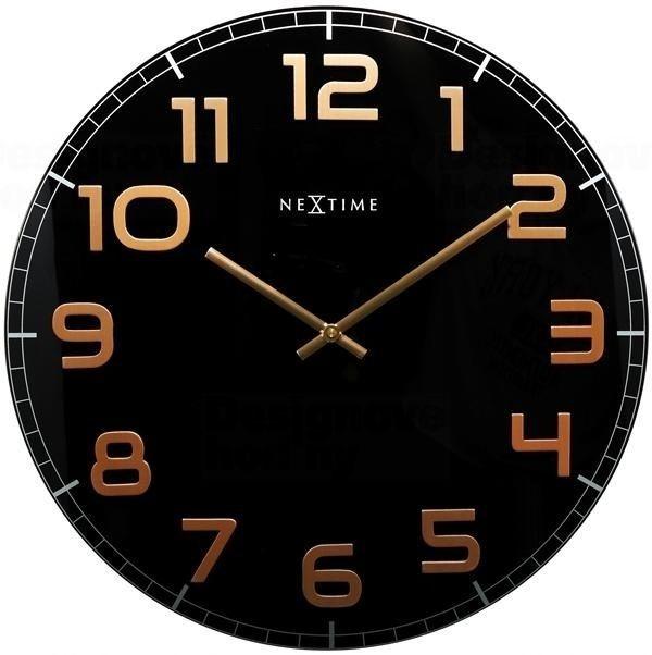 NeXtime Designové nástěnné hodiny 3105bc Nextime Classy Large 50cm 163798