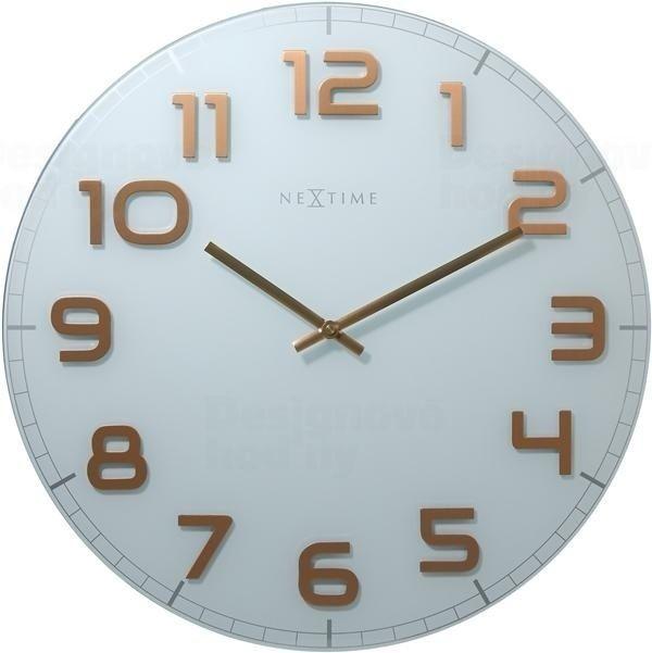 NeXtime Designové nástěnné hodiny 3105wc Nextime Classy Large 50cm 163799