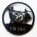 Designové nástěnné hodiny Discoclock 063 Swing 30cm 163800