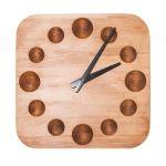 Dřevěné nástěnné hodiny A-0028 IdealWood 32cm 163780