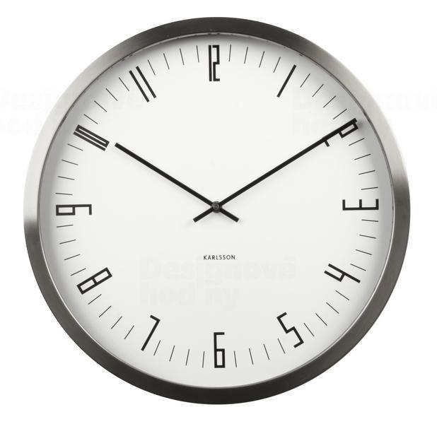00adcf03258 Designové nástěnné hodiny KA5612WH Karlsson 44cm 163905